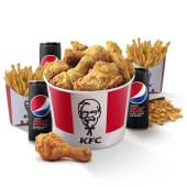 Menú Bucket 9 Piezas de Pollo - Para 3 Personas