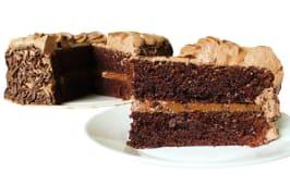 Torta fiestera de chocolate (25 porciones)