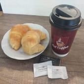 Café con leche + 2 Medialunas