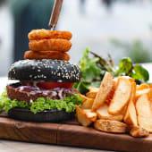 Meniu Beyond meat vegetarian Burger