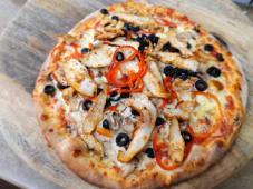 Pizza cu pui  Ø 40cm