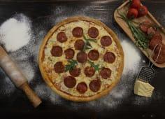 პიცა ,,ცხარე სალიამი'' (პატარა/დიდი)