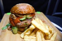 Meniu vegetarian burger