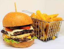 Burger superking + frites