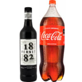1 Fernet 1882 750ml+ 1 Coca 2.25l