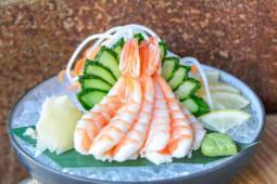 Сашимі з креветкою (50/50г)