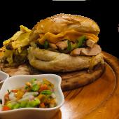 Promo Chesse steak sandwich