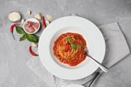 """Спагетти """"Аматричано"""""""
