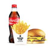 Дабл Чізбургер меню