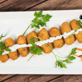 Croquetas de jamón Ibérico y Alioli (8 bucati)