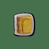 Tarta de manzana individual