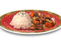 Chop Suey Rice
