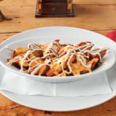 Domaći hrskavi krumpirići s topljenim sirom cedar i majonezom