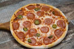 Pizza Diavola + Cola 330ml