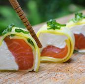 Feel salmón roll (5 uds.)