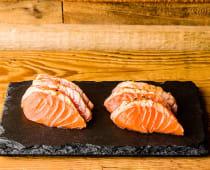 Sashimi Tataki de saumon