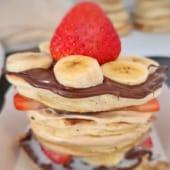 Pancakes fruits