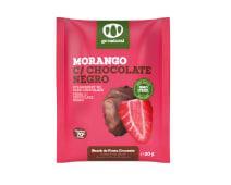 Morango c/ Chocolate Negro Desidratado