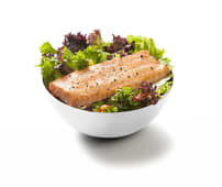 Norveç Somon Izgara Salata