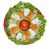 Салат З лососем та моцарелою (330г)