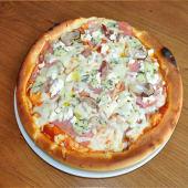 Pan pizza Gorgonzola