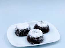 White chocolate soufflè