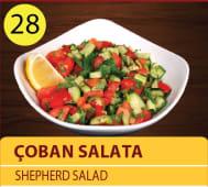 Coban salata - shepherd salad