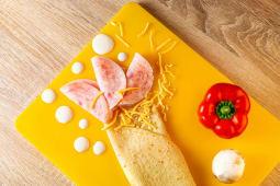 Млинець Сир та шинка  (200г)