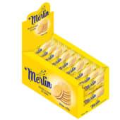 Biscuiti merlin sandwich aroma vanilie