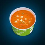 Supa crema de rosii cu mozzarela