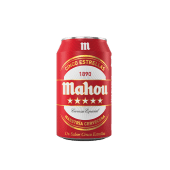 Mahou 5 Estrellas Lata (330 ml.)