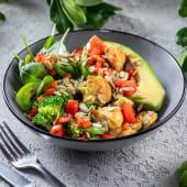 Салат з авокадо та індичкою (260г)