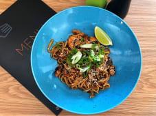 Тайська локшина з морепродуктами (350г)