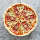 პიცა კაპრიჩოზა 6 ნაჭერი + კოკა-კოლა