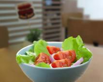 Porción de ensalada