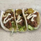 Taco Chili con carne (3 uds)