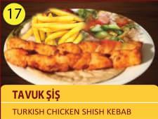 Tavuk sis - Turkish chicken shish kebab