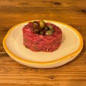 Tartare di Fassona Piemontese con Capperi e Olive