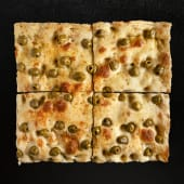 Pizza Focaccia Olive (1 Teglia)