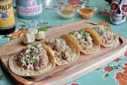 Tacos Barbacoa de cordero (4 uds.)