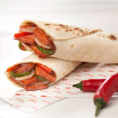 Mexican Hot Dog Wrap ملفوف هوت دوج  ميكسيكي