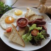 Англійський сніданок (230/30г)