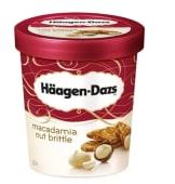 Helado Haagen Dazs macadamia nut brittle (500 ml.)