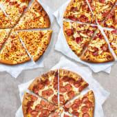 3 pizzas medianas