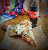 Meniu Big O Burrito Ciuperi + Coca Cola
