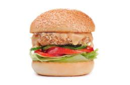 Бургер з куркою 395 г