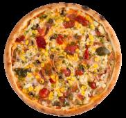Піца Double начинка Pizza go (710г/30см)