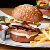 Бургер з індичкою (360/150/50г)