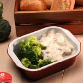 Velutte de vită cu broccoli