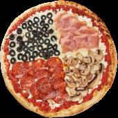 Pizza Quattro Stagioni Amestecata Ø 30cm